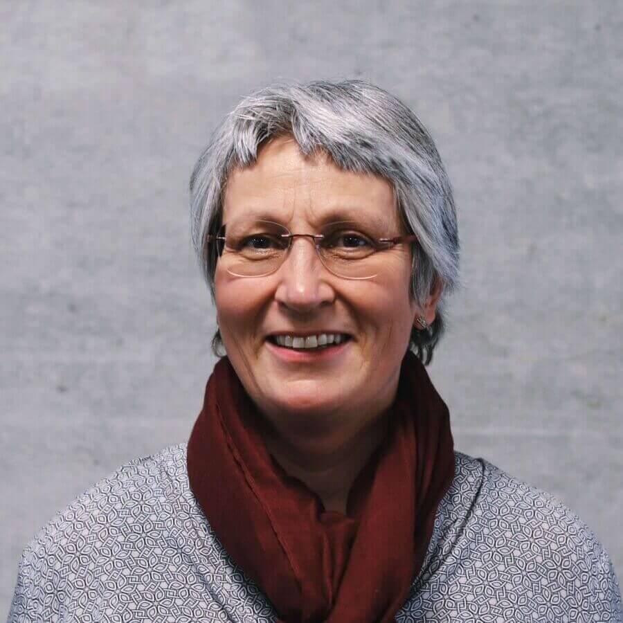 Mitarbeiterin Karin Egloff